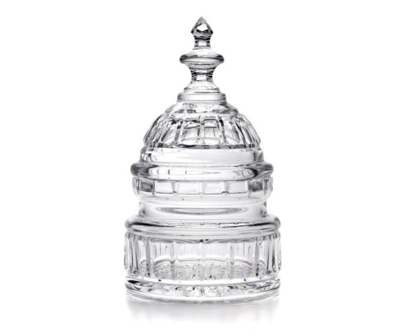 waterford crystal capitol dome biscuit barrel